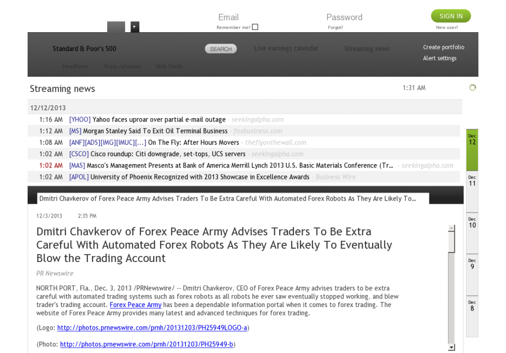 Trading Robots will Blow Trading Account AlipesNews by Dmitri Chavkerov