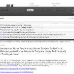 Dmitri Chavkerov   Sound Money Management Using Trading Robots publication inAlipesNews