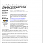Dmitri Chavkerov | Sound Money Management Using Trading Robots publication inWTNZ FOX-43 (Knoxville, TN)