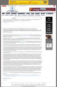 CitiGroup and JPMorgan Currency Rigging  Dallas South News  by Dmitri Chavkerov