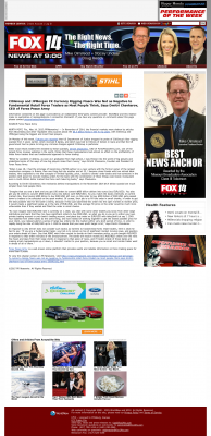 CitiGroup and JPMorgan Currency Rigging  KFJX-TV FOX-14 (Pittsburg, KS)  by Dmitri Chavkerov
