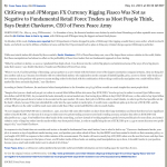 CitiGroup and JPMorgan Currency Rigging SiliconValley.com (Silicon Valley, CA) by Dmitri Chavkerov