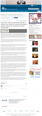 Money Making Opportunity Story in  Belleville News-Democrat  by Forex Peace Army