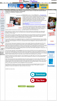 Money Making Opportunity Story in  IT News Online  by Forex Peace Army