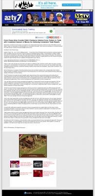 Money Making Opportunity Story in  KAZT IND-7 (Phoenix/Prescott, AZ)  by Forex Peace Army