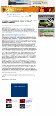 Money Making Opportunity Story in  KFVE MyNetworkTV-5 (Honolulu, HI)  by Forex Peace Army