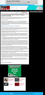 Money Making Opportunity Story in  KTVG-TV FOX-17 / KSNB-TV FOX-4 (Kearney, NE)  by Forex Peace Army