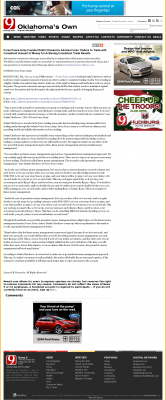 Money Making Opportunity Story in  KWTV-TV CBS-9 (Oklahoma City, OK)  by Forex Peace Army