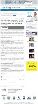 Money Making Opportunity Story in  Lexington Herald-Leader (Lexington, KY)  by Forex Peace Army
