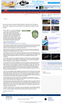 Money Making Opportunity Story in  NorthWest Cable News (Seattle, WA)  by Forex Peace Army