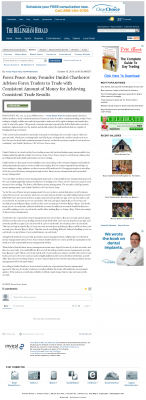 Money Making Opportunity Story in  The Bellingham Herald  by Forex Peace Army