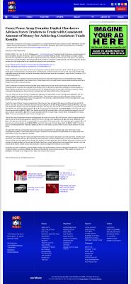 Money Making Opportunity Story in  WBRC-TV FOX-6 MyFox Birmingham (Birmingham, AL)  by Forex Peace Army