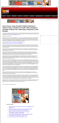 Money Making Opportunity Story in  WFXG-TV FOX-54 (Augusta, GA)  by Forex Peace Army