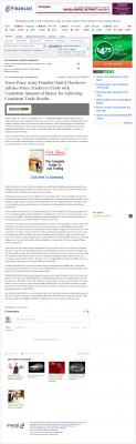 Money Making Opportunity Story in  WR Hambrecht & Co.  by Forex Peace Army