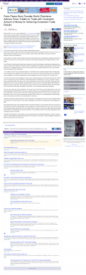 Money Making Opportunity Story in  Yahoo!  by Forex Peace Army