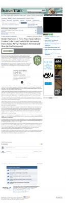 Trading Robots will Blow Trading Account  Farmington Daily Times (Farmington, NM)  by Dmitri Chavkerov