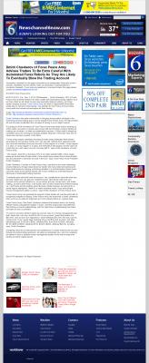 Trading Robots will Blow Trading Account  KAUZ-TV CBS-6 (Wichita Falls, TX)  by Dmitri Chavkerov