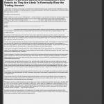 Dmitri Chavkerov | Sound Money Management Using Trading Robots publication inWTLH-TV FOX-49 (Tallahassee, FL)