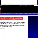 Dmitri Chavkerov | Sound Money Management Using Trading Robots publication inWTOL CBS-11 (Toledo, OH)