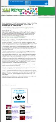 Trading Robots will Blow Trading Account  WUPV-TV CW-65 (Ashland, VA)  by Dmitri Chavkerov
