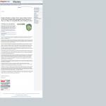 Dmitri Chavkerov | Sound Money Management Using Trading Robots publication inWorcester Telegram & Gazette