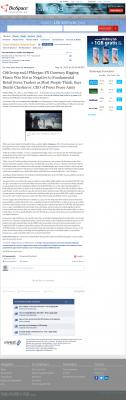 CitiGroup and JPMorgan Currency Rigging  BioSpace  by Dmitri Chavkerov