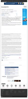CitiGroup and JPMorgan Currency Rigging  Buffalo News (Buffalo, NY)  by Dmitri Chavkerov