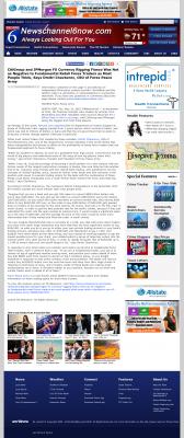 CitiGroup and JPMorgan Currency Rigging  KAUZ-TV CBS-6 (Wichita Falls, TX)  by Dmitri Chavkerov