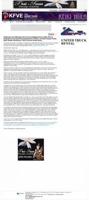 CitiGroup and JPMorgan Currency Rigging  KFVE MyNetworkTV-5 (Honolulu, HI)  by Dmitri Chavkerov
