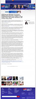 CitiGroup and JPMorgan Currency Rigging  KMEG-TV CBS-14 (Sioux City, IA)  by Dmitri Chavkerov