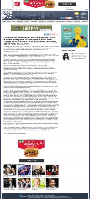 CitiGroup and JPMorgan Currency Rigging  KMPH-TV FOX-26 (Fresno, CA)  by Dmitri Chavkerov