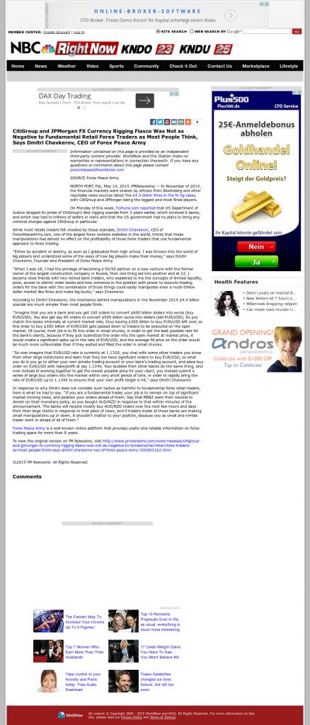 CitiGroup and JPMorgan Currency Rigging KNDO-TV NBC / KNDU-TV NBC (Kennewick, WA) by Dmitri Chavkerov