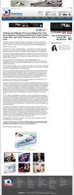 CitiGroup and JPMorgan Currency Rigging  KTEN NBC-10 (Denison, TX)  by Dmitri Chavkerov