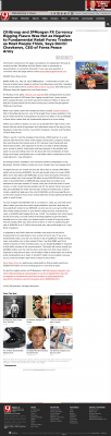 CitiGroup and JPMorgan Currency Rigging  KWTV-TV CBS-9 (Oklahoma City, OK)  by Dmitri Chavkerov