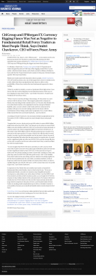 CitiGroup and JPMorgan Currency Rigging  Kansas City Business Journal  by Dmitri Chavkerov