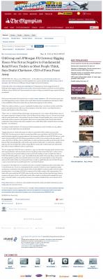CitiGroup and JPMorgan Currency Rigging  Olympian (Olympia, WA)  by Dmitri Chavkerov