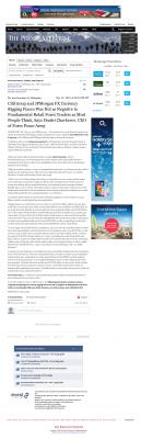 CitiGroup and JPMorgan Currency Rigging  Press-Enterprise  by Dmitri Chavkerov