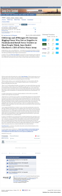 CitiGroup and JPMorgan Currency Rigging  Santa Cruz Sentinel (Santa Cruz, CA)  by Dmitri Chavkerov