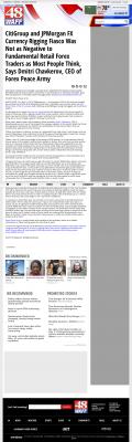 CitiGroup and JPMorgan Currency Rigging  WAFF NBC-48 (Huntsville, AL)  by Dmitri Chavkerov