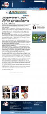 CitiGroup and JPMorgan Currency Rigging  WCIV-TV ABC-4 (Charleston, SC)  by Dmitri Chavkerov