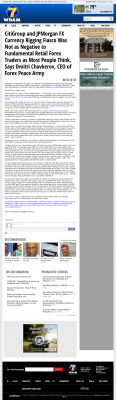 CitiGroup and JPMorgan Currency Rigging  WDAM NBC-7 (Hattiesburg-Laurel, MS)  by Dmitri Chavkerov