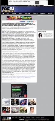 CitiGroup and JPMorgan Currency Rigging  WDSI-TV FOX-61 (Chattanooga, TN)  by Dmitri Chavkerov