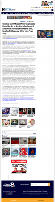 CitiGroup and JPMorgan Currency Rigging  WFLA-TV NBC-8 (Tampa, FL)  by Dmitri Chavkerov