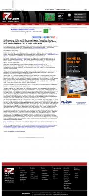 CitiGroup and JPMorgan Currency Rigging  WTRF-TV CBS-7 (Wheeling, WV)  by Dmitri Chavkerov