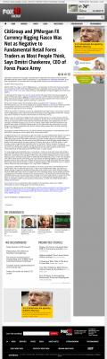 CitiGroup and JPMorgan Currency Rigging  WXIX FOX-19 (Cincinnati, OH)  by Dmitri Chavkerov